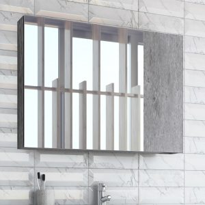 Puro Granite Mirror Cabinet Dimensions: 60 x 12 x 68 cm
